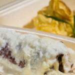 catering-oradea-Involtini-de-porc-cu-sos-de-cascaval---Cartofi-Duchees